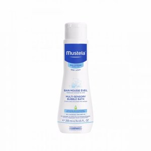 Mustela Baby Multi-Sensory Bubble Bath, Tear Free, 6.7 Oz.