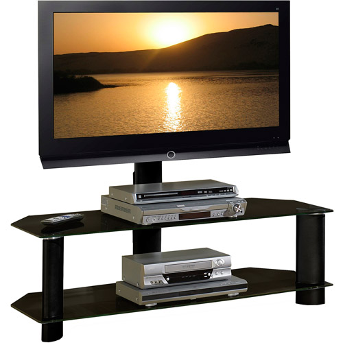 Tech Craft Solution Series Trk50b Stand For Tv Metal Glass