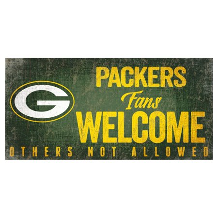 Fan Creations NFL Fans Welcome Sign