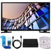 Samsung UN32M4500 32-Inch 720p Smart LED TV (2017 Model) w/ Tuner Bundle Includes, HD Digital TV Tuner, SurgePro 6-Outlet Surge Adapter w/ Night Light, 6ft. HDMI Cable & Screen Cleaner For LED TVs E4SAMUN32M4500 UN32M4500 32 Smart LED HDTVStandPower CordUser GuideDocumentationBundle Includes:Samsung 32-Inch 720p Smart LED TV (2017 Model)Terk HD Digital TV Tuner with Recording - Cut The Cord!!SurgePro 6 NT 750 Joule 6-Outlet Surge Adapter with Night LightUniversal Screen Cleaner (Large Bottle) for LED TVs6ft High Speed HDMI Cable - Black