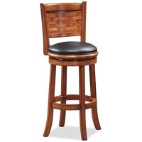 "Boraam Sumatra 24"" Swivel Counter Stool, Multiple Finishes"