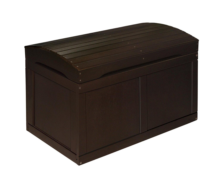 Badger Basket Barrel Top Toy Box, Espresso by Badger Basket Company