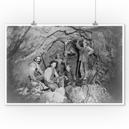 Coeur Dalene  Idaho   Chance Mine Lead Mining   Vintage Photograph  9X12 Art Print  Wall Decor Travel Poster