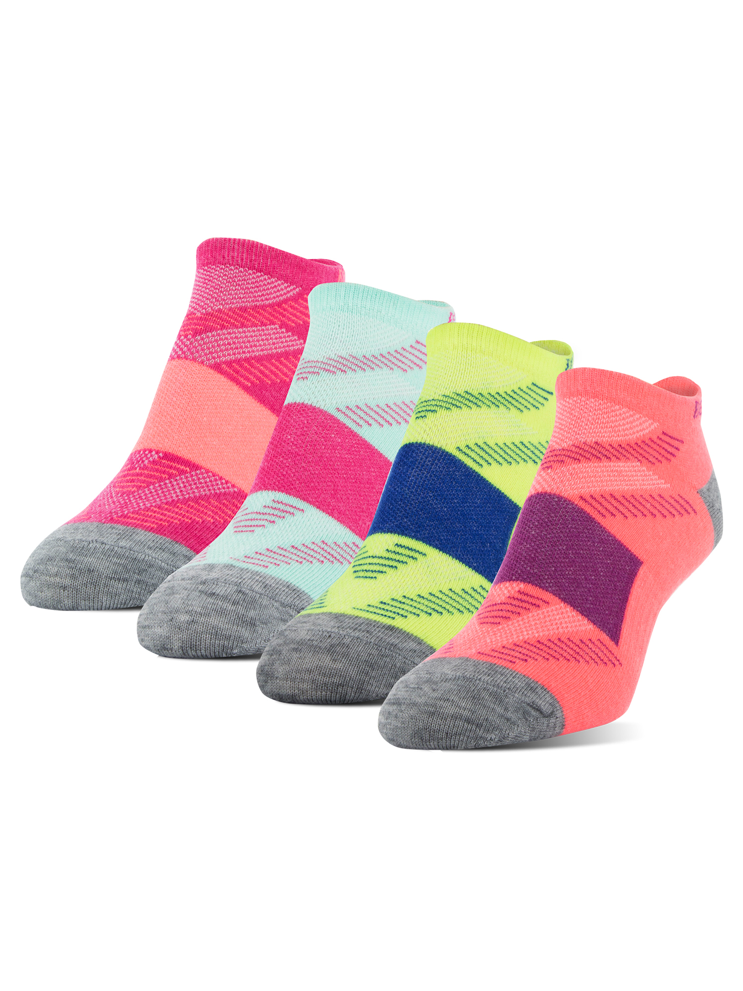 Women's Wool Ultralite No Show Socks, 4 Pairs