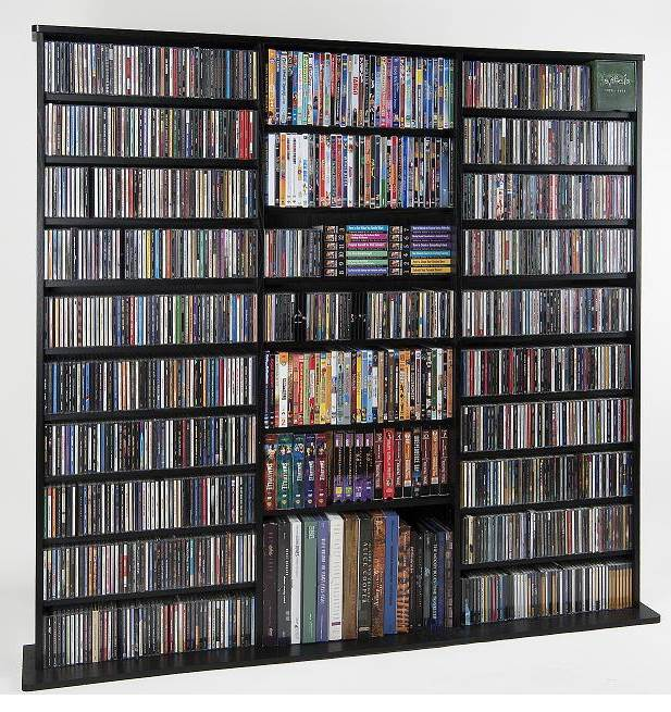 Oak Multimedia Collection in Black Finish