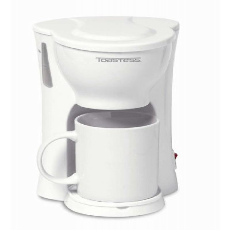 Toastess International 1-Cup Personal Coffee Maker with 1...