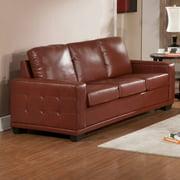 Simmons Traditional Tobacco Upholstered Sofa Set