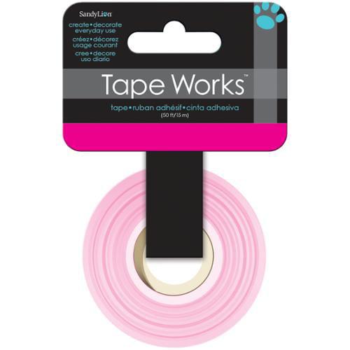"Tape Works Tape .625""X50ft-Bright Magenta"