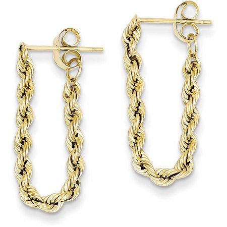 14kt Yellow Gold Hollow Rope -