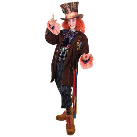 Alice Through the Looking Glass Mad Hatter Men's Costume (Alice And Mad Hatter Costume)