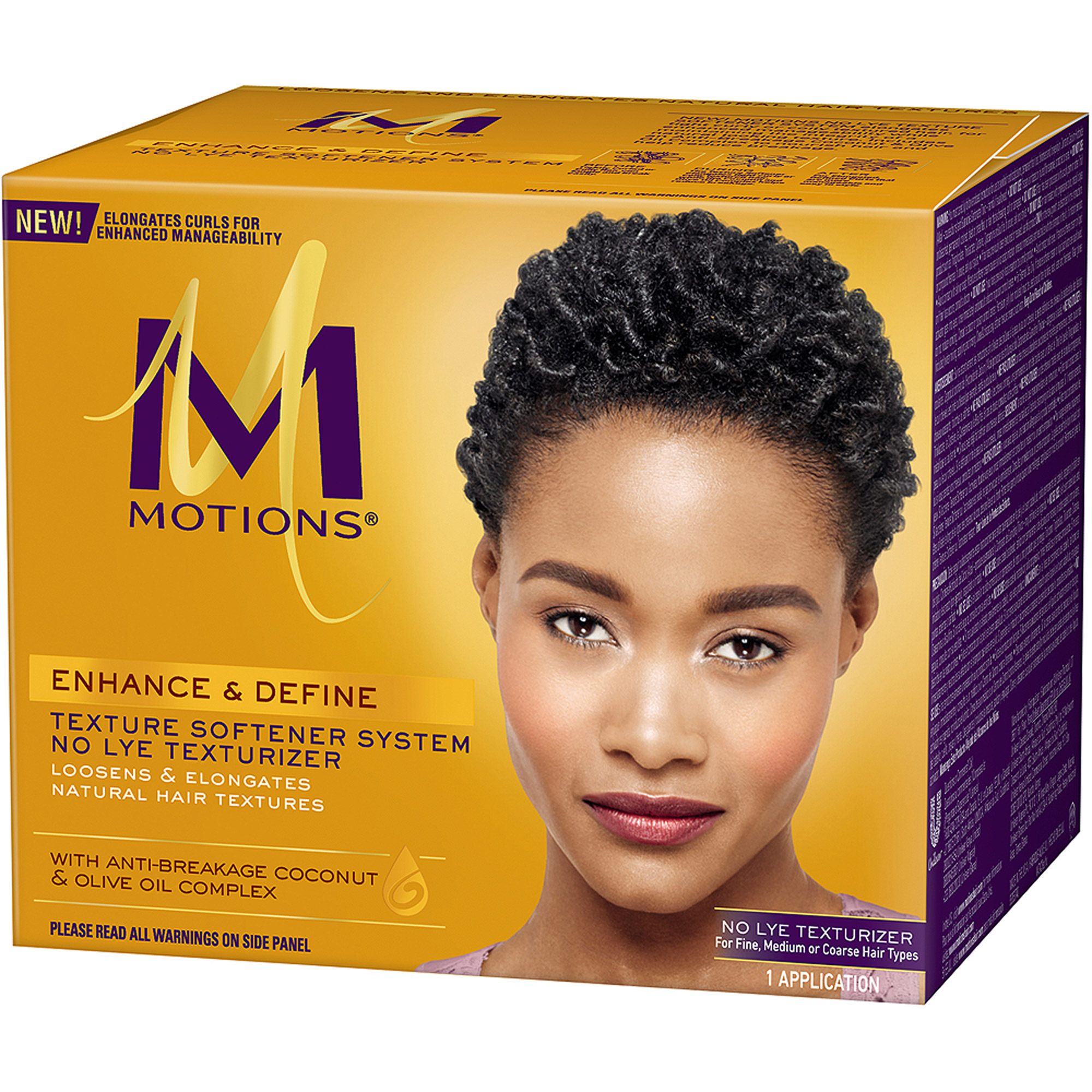 Motions Enhance and Define No Lye Texturizer Texture Softener System, Kit