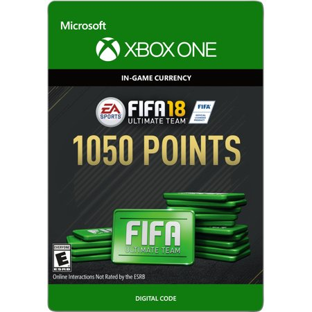 Xbox One FIFA 18 Ultimate Team 1050 Points (Email