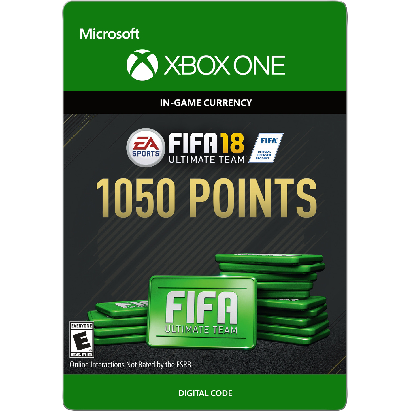 Xbox One FIFA 18 Ultimate Team 1050 Points (Email Delivery)