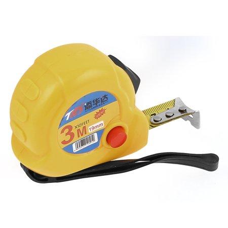 Self-Retract Design 3 Meter 10Ft Portable Flexible Tape Measure Ruler - 3 Meter Mounting Tapes