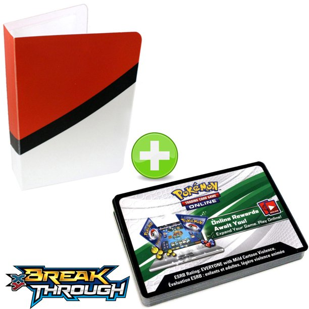 36 Pokemon Booster Code Cards XY BreakTHROUGH With
