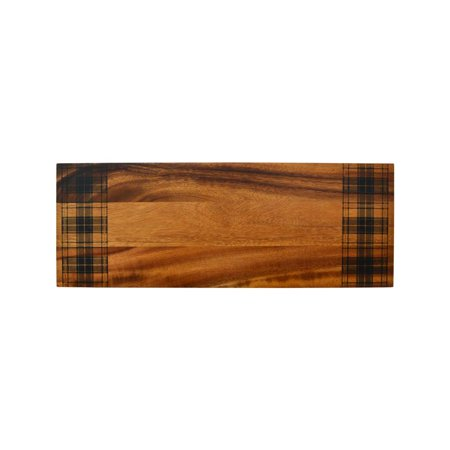 "Wexford Brown Rectangular Wooden Board 18""x 6"""