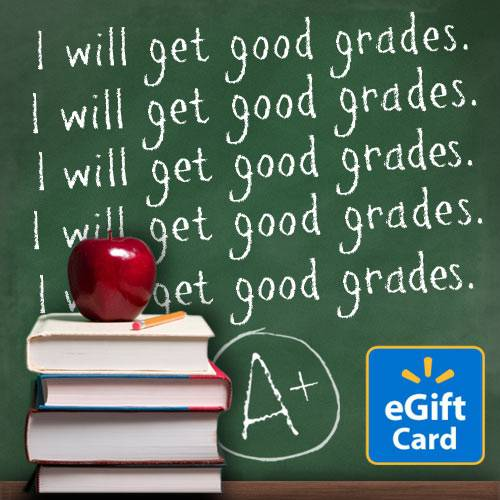 Good Grades Walmart eGift Card
