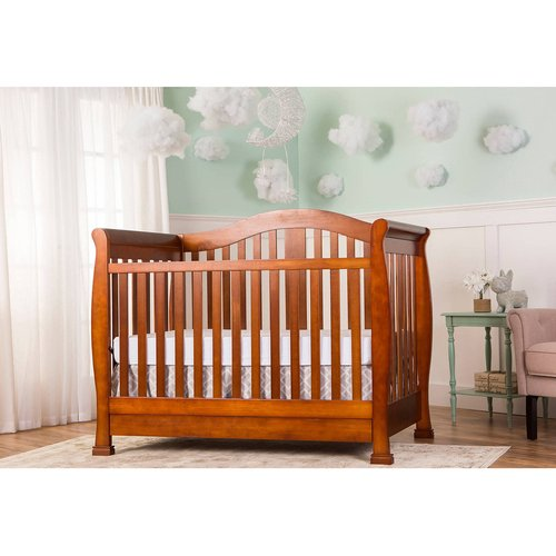 Dream On Me Addison 5-in-1 Convertible Crib with Storage Drawer, Espresso