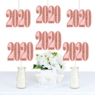Rose Gold Grad - 2020 Decorations DIY