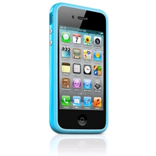 Apple Bumper Case for Apple iPhone 4/4S ��� Blue
