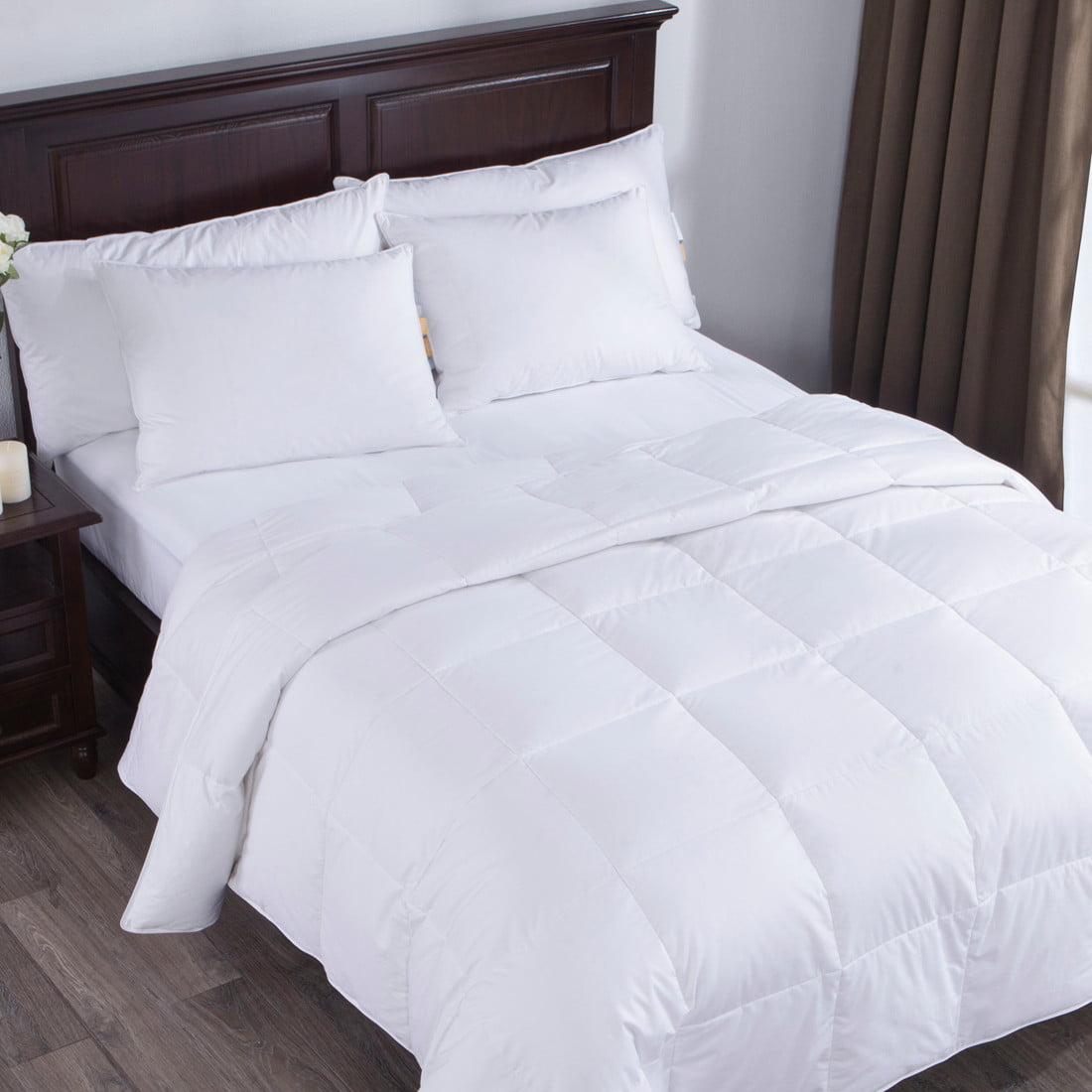 Puredown Lightweight White Goose Down Comforter Duvet
