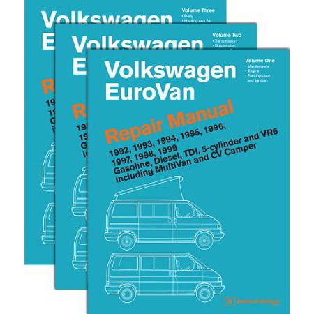- Volkswagen Eurovan Repair Manual