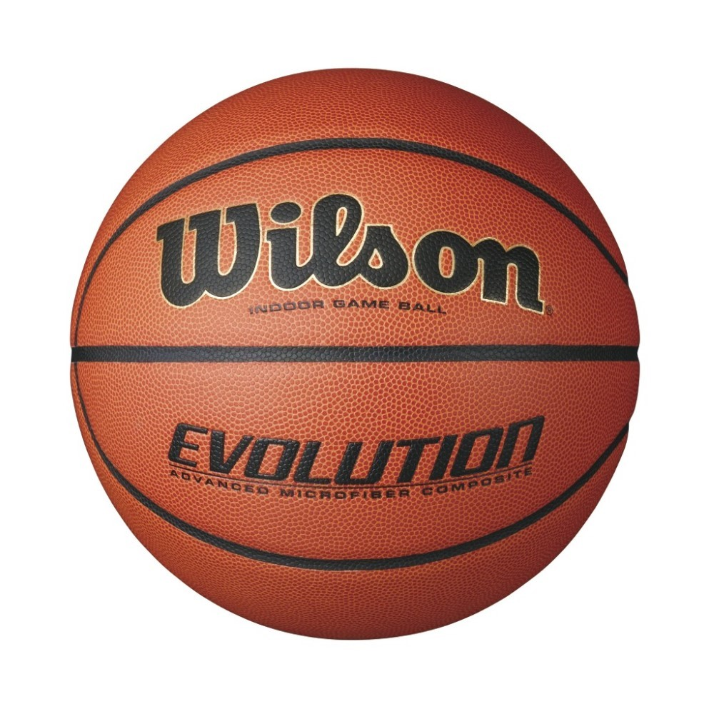 Wilson Evolution Indoor Game Basketball, Orange