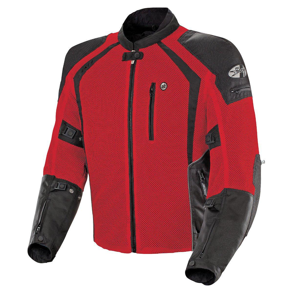 Joe Rocket Phoenix Ion Mens Red Mesh Jacket