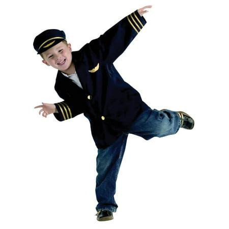 Brand New World Costume Airline Pilot