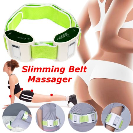 Electric Vibrating Slimming Belt Vibration Fat Burning Belt Weight Management Massager