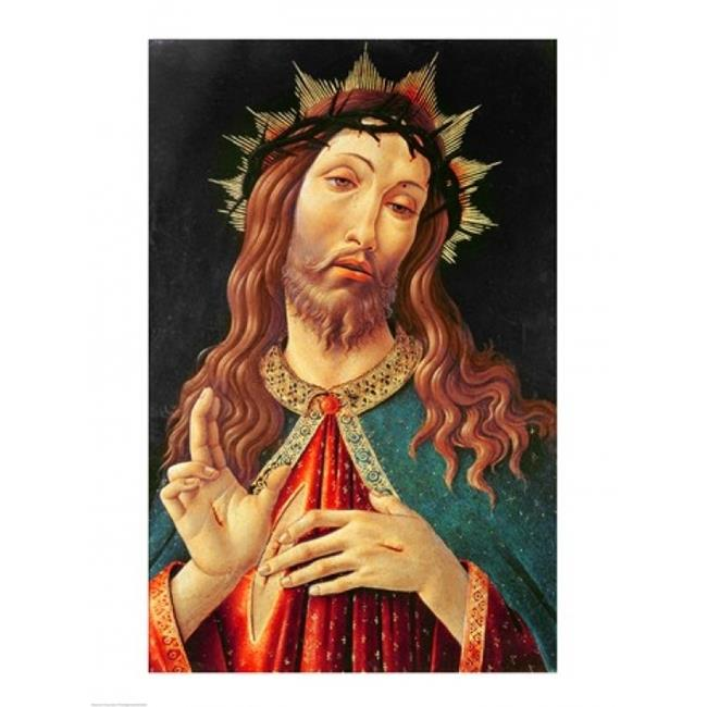 Posterazzi BALXIR198444LARGE Ecce Homo Or The Redeemer C.1474 Poster Print by Sandro Botticelli - 24 x 36 in. - Large - image 1 of 1