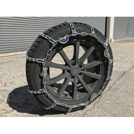 Snow Chains 3231  35X12.50-20 Cam Tire Chains Rubber Tensioners - image 3 de 4