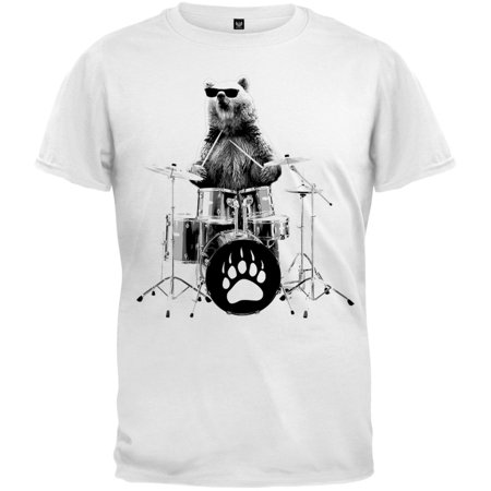 Bear Drummer Youth T-Shirt (Drummer Bear)