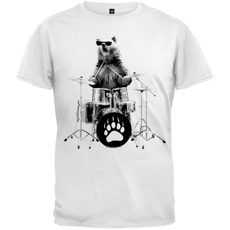 Bear Drummer Youth T-Shirt