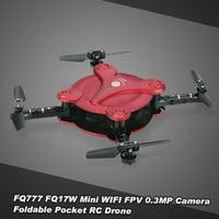 FQ777 FQ17W 6- Gyro Mini Wifi FPV Foldable G-sensor Pocket Drone with 0.3MP Camera Altitude Hold RC Quadcopter