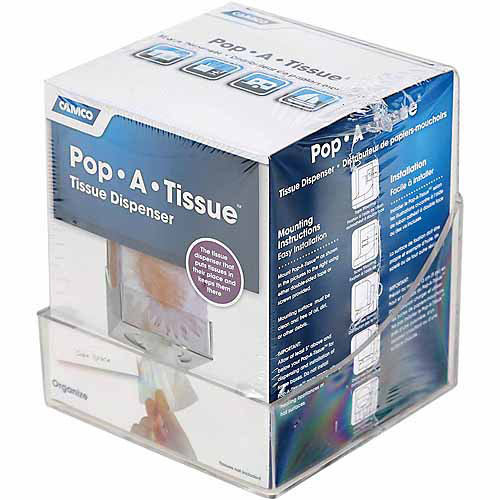 Camco Pop-A-Tissue, Clear