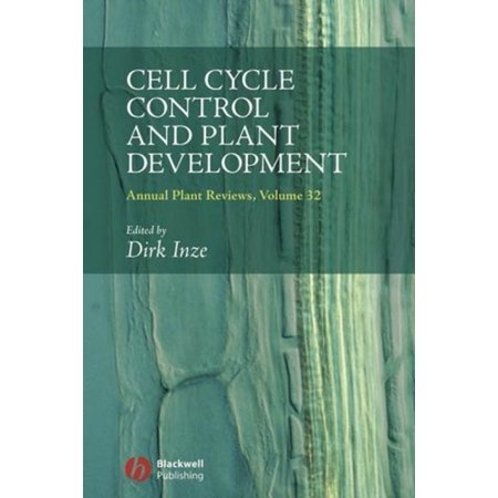 Cell Cycle Control And Plant Development  Annual Plant Reviews   Hardcover