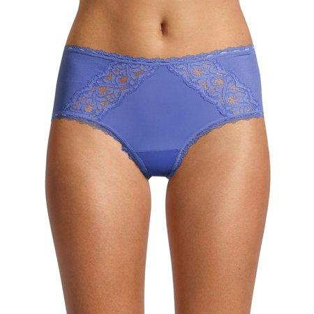 Secret Treasures Women's Sexy Rib Cheeky Panties, 3-Pack