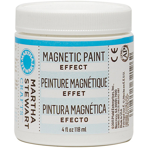 Martha Stewart Magnetic Effect Paint, 4 oz