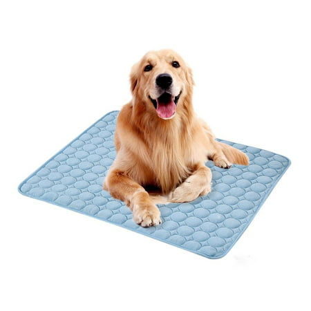 Home Cal Pet Cooling Mat Summer Self Cooling Pad for Dogs and Cats Ice Silk Mat Cooling Blanket Cushion for Kennel/Sofa/Bed/Floor/Car Seats Cooling (Sink For Dogs)