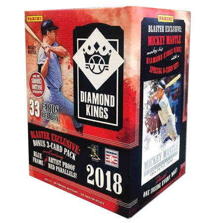 2018 Panini Diamond Kings Baseball Blaster Box- 35 Trading Cards |Hall of (Diamond Collection Baseball Box)