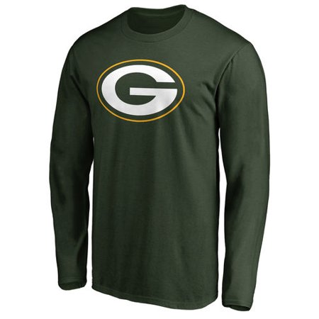 Men's NFL Pro Line Green Green Bay Packers Primary Logo Long Sleeve T-Shirt](Halloween Stores In Green Bay)