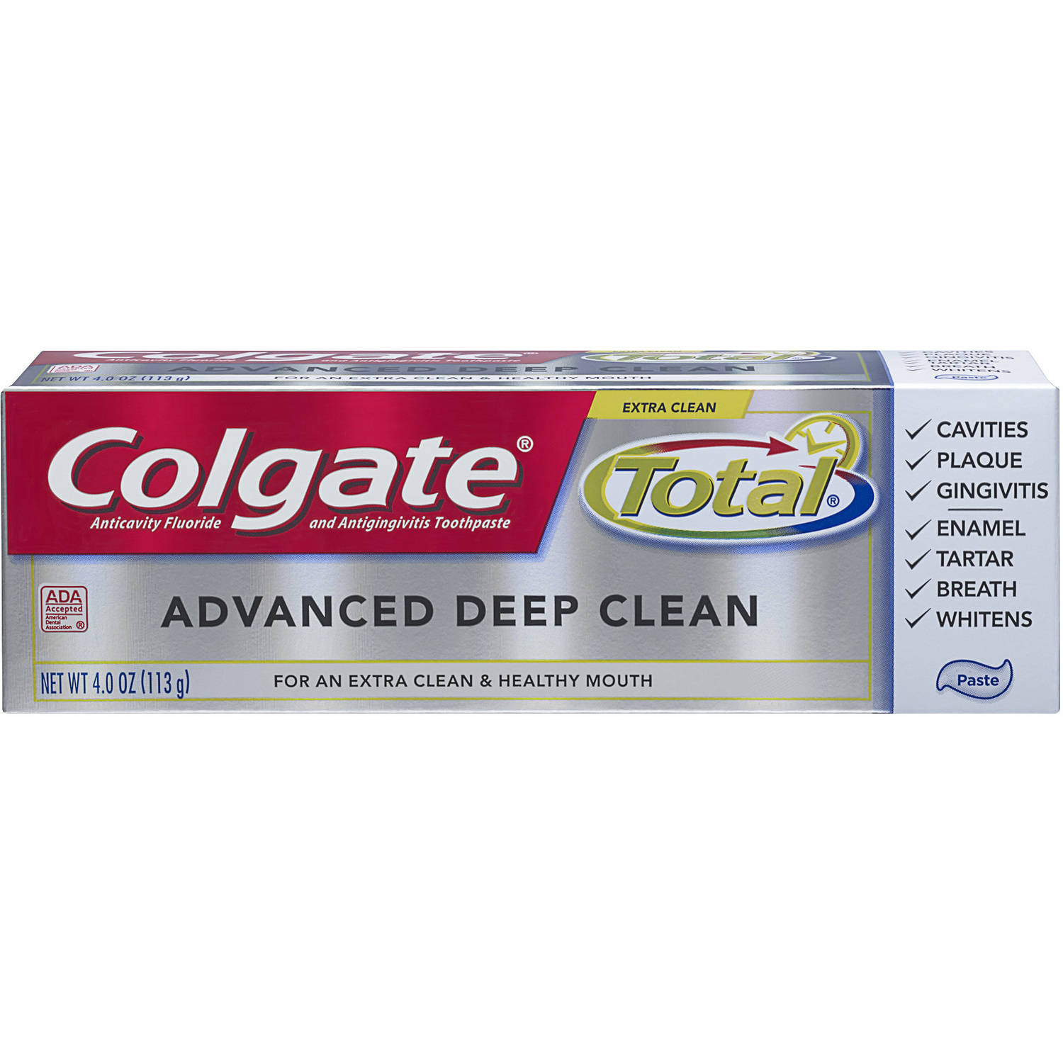 Colgate Total Advanced Clean Toothpaste, 4 oz
