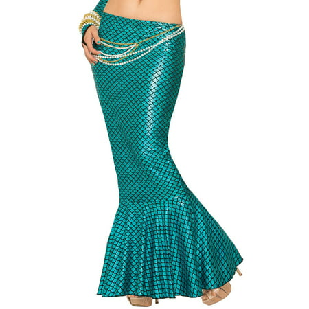 Target Mermaid Costume (Adult Blue Mermaid Skirt Sexy)