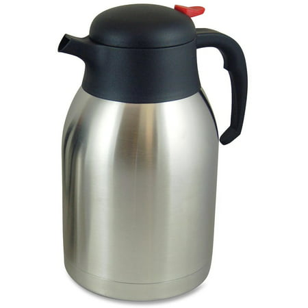 Genuine Joe Double Wall Stnls Vacuum Insulated Carafe, GJO11956