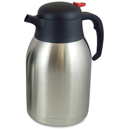 - Genuine Joe Double Wall Stnls Vacuum Insulated Carafe, GJO11956