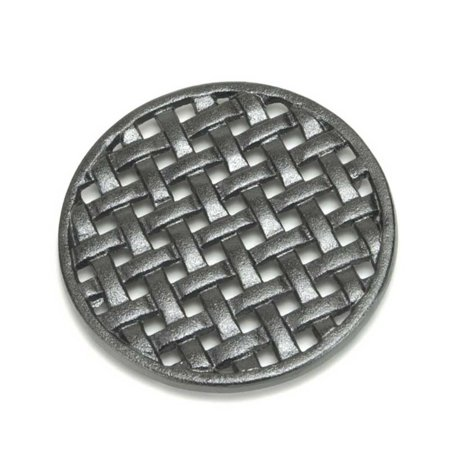 Minuteman International Round Cast Iron (Cast Iron Round Trivet)