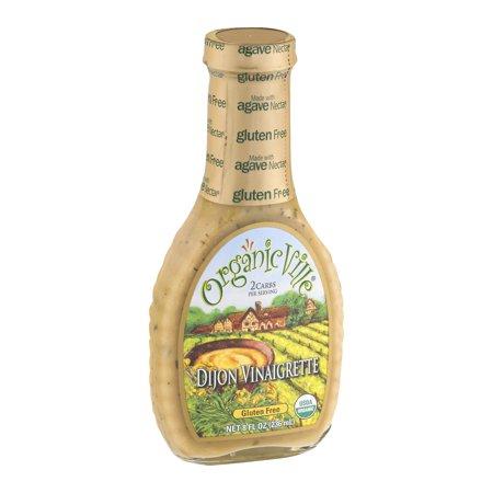 Organicville Dijon Vinaigrette, 8.0 FL OZ