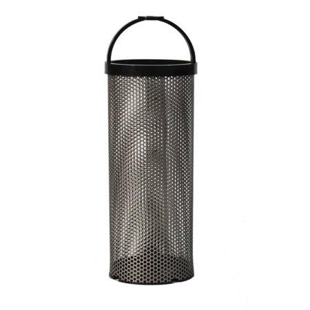 "GROCO BS-2 Stainless Steel Basket - 1.9"" x 7.2"" - image 1 de 1"