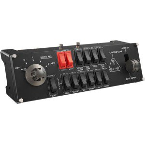 (Saitek Pro Flight Switch Panel for PC - Cable - USB - PC)